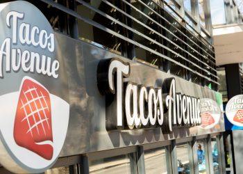 Enseigne de tacos francais